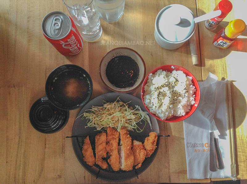 Chicken Katsu Set (Php 195)