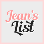 Jean's List