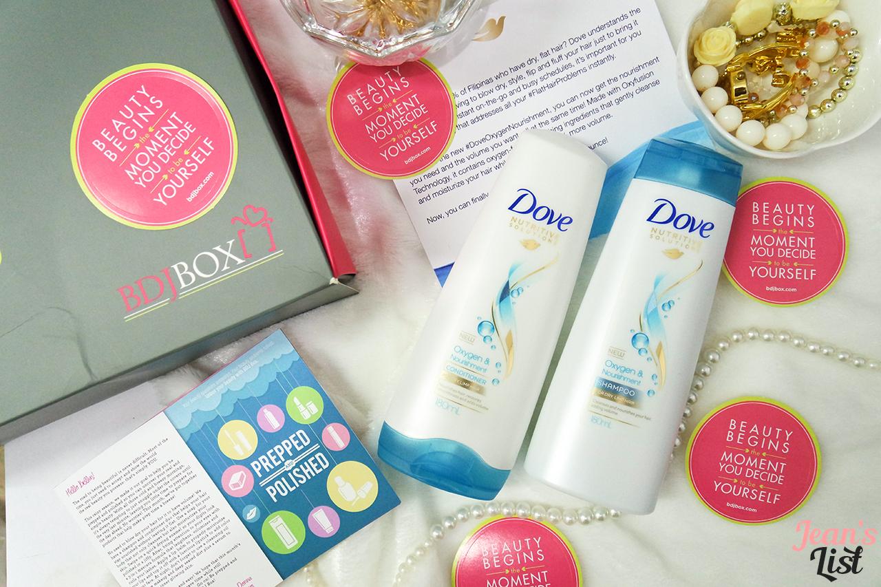 Dove Oxygen & Nourishment Shampoo and Conditioner