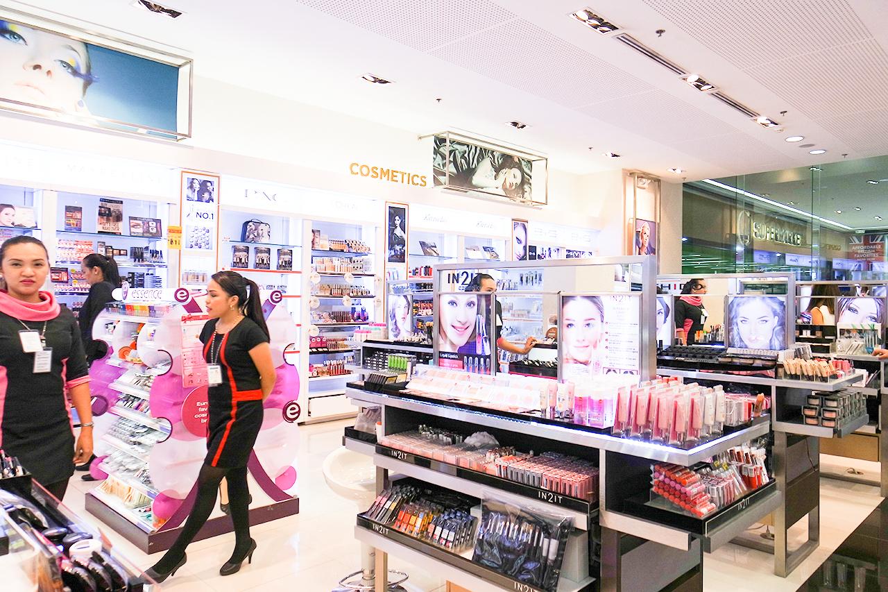 Watsons Cosmetics Section