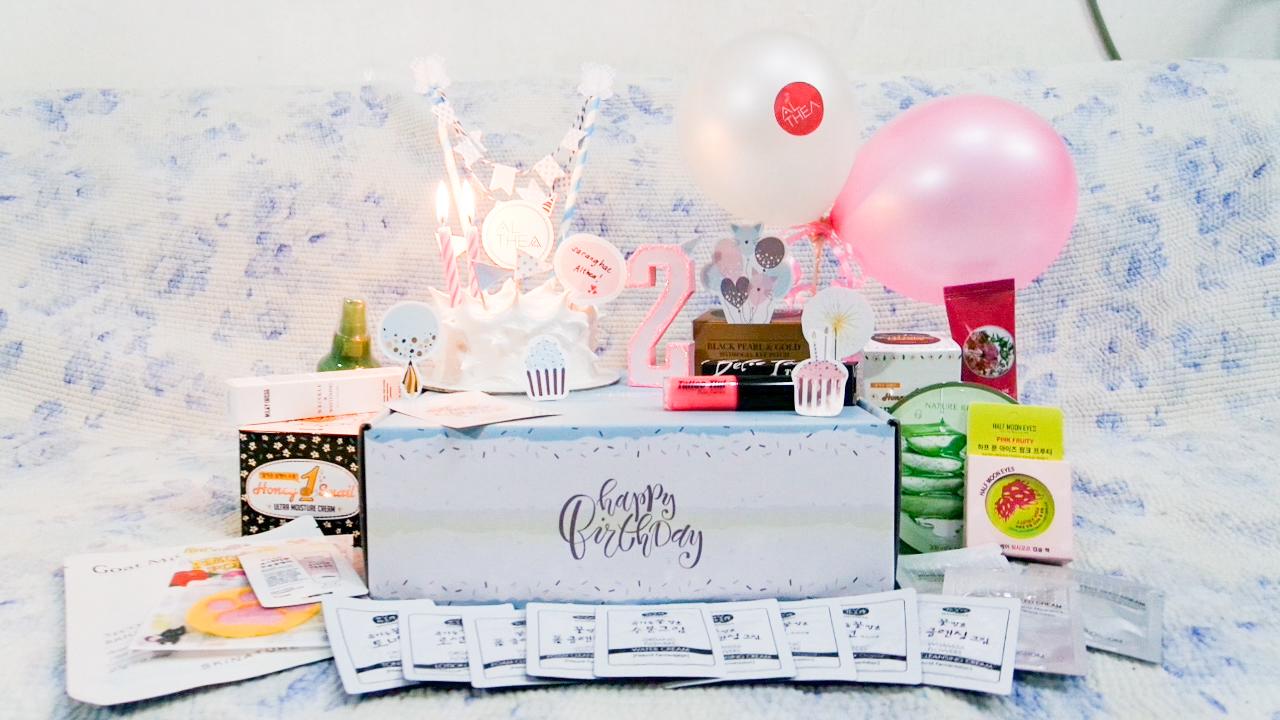 Althea Korea Birthday Box 2017
